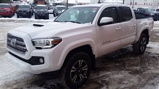 getlinkyoutube.com-2017 Toyota Tacoma Double Cab TRD with Manual Transmission reivew of Exterior and Interior features