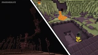 getlinkyoutube.com-Minecraft PE - Switching The Textures of The End & The Nether?