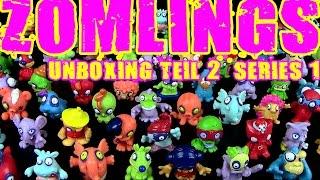 getlinkyoutube.com-Zomlings © In The Town - Series 1 - FigurenMagazin Unboxing - Teil 02