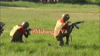 POLISI KATAVI WAONYESHA UMAHIRI WA KUPAMBANA NA MAJAMBAZI MBELE YA IGP