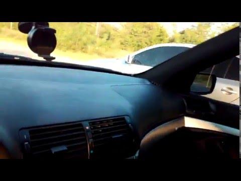 BMW 5 series M Style 3,0М54 сток vs octavia a5 st.2