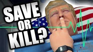 getlinkyoutube.com-WOULD YOU KILL TRUMP?? (Surgeon Simulator - Part 8)