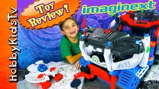 getlinkyoutube.com-Imaginext Battle Rover Toy Review Superman Batman Flash Joker by HobbyKidsTV