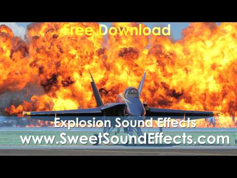 Explosion Sound Effects for FREE
