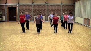 getlinkyoutube.com-TENNESSEE WALTZ SURPRISE - line dance