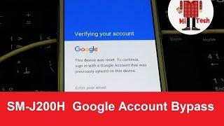 (100% work) Bypass Google Account on Samsung Galaxy J2 SM-J200H  ( FRP Bypass )