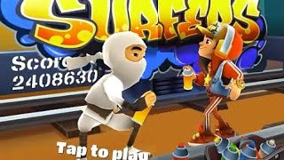 Subway Surfers Venice VS Prague iPad Gameplay for Babies HD