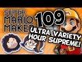 Super Mario Maker: Touchy Subjects - PART 109 - Game Grumps