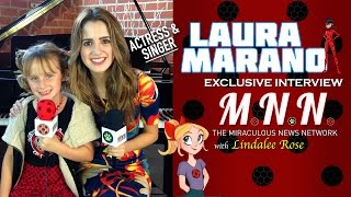 getlinkyoutube.com-Laura Marano & Lindalee discuss Miraculous Ladybug (MNN Ep.5)