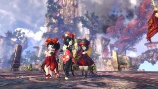 getlinkyoutube.com-Blade & Soul 3rd CBT Trailer : Shyboy of Cats