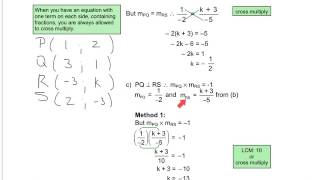 Grade 12 Mathematics - Analytical Geometry Revision 1 (Module 2, Unit AG1a)
