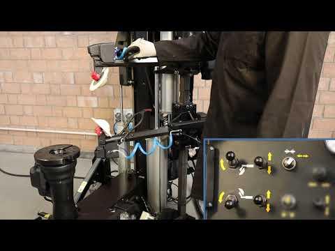 Шиномонтажный станок-робот T7800