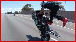 getlinkyoutube.com-Streetfighterz Ride The Murder Biz Ride 2015 Insane Motorcycle Stunts