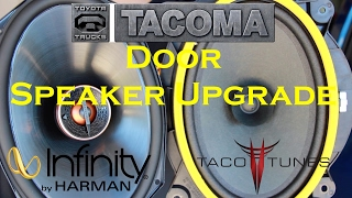 2016+ Toyota Tacoma Door Speaker Upgrade - Tim's Tacoma Garage Ep. 20