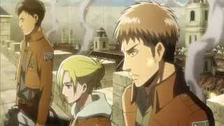 getlinkyoutube.com-Attack on Titans- Linkin Park- Castle of Glass AMV