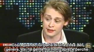 Macaulay Culkin about MJ interview 2004 sub ita.avi