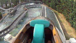 getlinkyoutube.com-Water Coaster Slide at Zoomarine