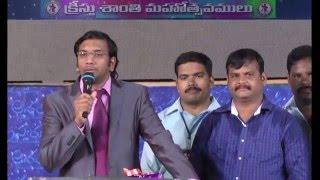 Bible Wonders|| Telugu Message || Dr John Wesly
