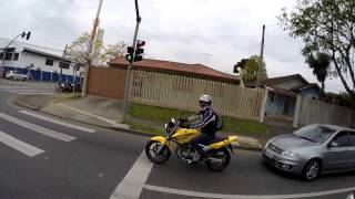 getlinkyoutube.com-Kaverna RD135 Brincadinha Twister amarela e Lander 250X