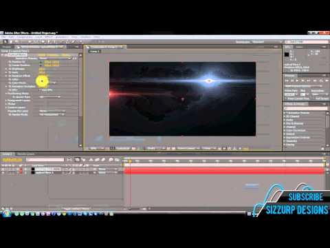 After Effects Tutorial - Optical Flares