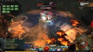 getlinkyoutube.com-GW2 Sabetha the Saboteur Undefeated Kill (Druid Pov)
