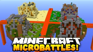 "getlinkyoutube.com-Minecraft MICRO BATTLES ""TEAM FLAWLESS!"" #31 w/ PrestonPlayz & MrWoofless"