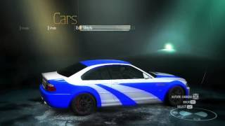 getlinkyoutube.com-Cum sa faci BMW M3 GTR in NFS UNDERCOVER