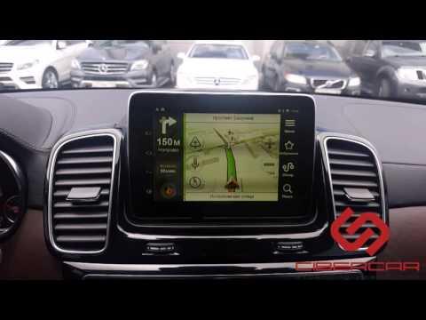 Mercedes GLE: первый в мире андроид на 5-й версии в штатной системе AirTouch Performance