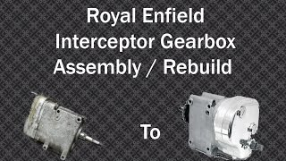 getlinkyoutube.com-Royal Enfield gearbox assembly
