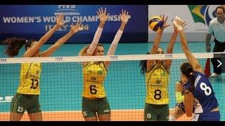 getlinkyoutube.com-FIVB WORLD GRAND PRIX 2014 - BRASIL X RÚSSIA