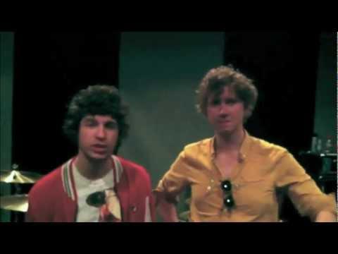 The Kooks - Видеоприглашение на концерт от группы в клубе ГлавClub