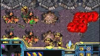 getlinkyoutube.com-스타크래프트 빨무 2:2 팀플 온리다크아칸ㅋㅋ; (starcraft brood war fastest map only dark archon play)