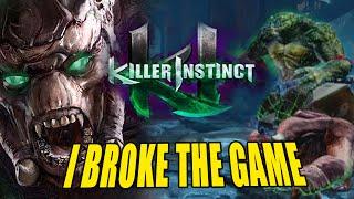 getlinkyoutube.com-I BROKE THE GAME: Gargos -  WEEK OF! Part 1 (Killer Instinct S3)