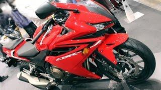2016 HONDA CBR400R Victory Red