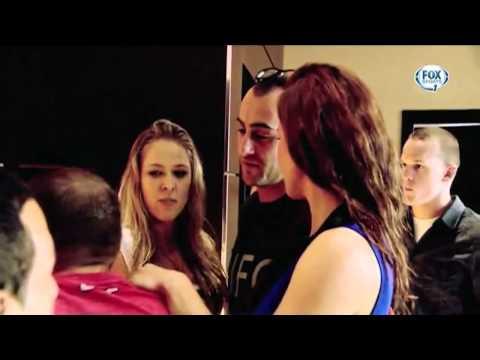 miesha tate & bryan caraway: cyborg beats ronda rousey EsNews