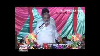 getlinkyoutube.com-Zakir Mahmood Raza Qadeer Raza Ghori Golden Jushan 3 shiban 2013 at kotla haji shah