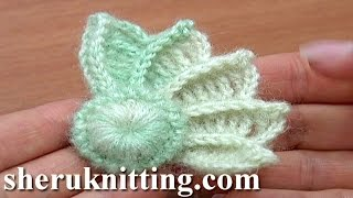 getlinkyoutube.com-Crochet 3D Wing How to Crochet Tutorial 10 Part 1 of 2 Crochet Element