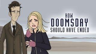 getlinkyoutube.com-Doctor Who:  How Doomsday Should Have Ended