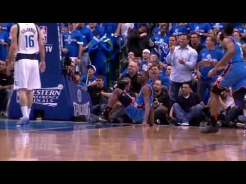 Kevin Durant Top 10 Dunks - 2010-2011 season (included Playoffs)