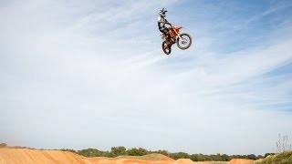 getlinkyoutube.com-125 at James Stewart's Compound ft. Challen Tennant - Dirt Bike Addicts