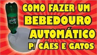 getlinkyoutube.com-DIY - COMO FAZER UM BEBEDOURO AUTOMÁTICO PARA CÃES E GATOS