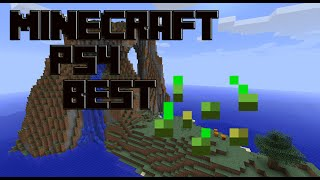 getlinkyoutube.com-Minecraft PS4 - Start a World with the Best Seed! ( Minecraft PS4 Tutorial )