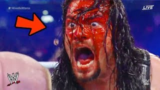 10 LIVE Moments WWE Doesn't Want You To See! width=