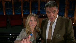 getlinkyoutube.com-Late Late Show with Craig Ferguson 12/3/2010 Kristen Bell, Michael Franti