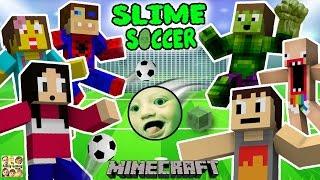 getlinkyoutube.com-FGTEEV FAMILY SLIME SOCCER MATCH!  Super Fun Minecraft Game w/ Furby Crowd (6 Players)