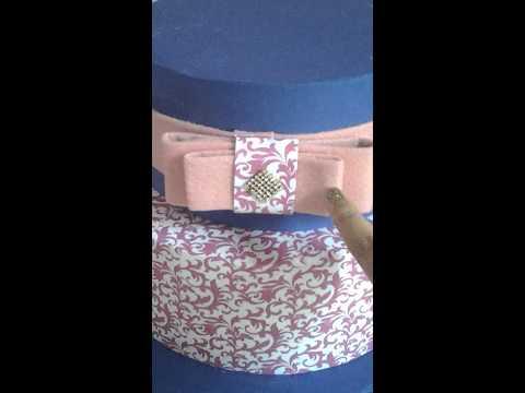 Bolo falso em tecido / parte2