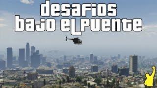 getlinkyoutube.com-Grand Theft Auto V (GTA V) - Desafíos Bajo el Puente