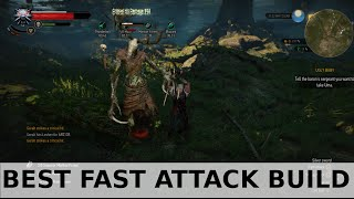 getlinkyoutube.com-Witcher 3 - Best Fast Attack Build