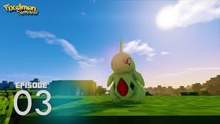 Catching Pokemon - Pixelmon 1.8 Survival Day 3 (Pixelmon 4.0.4)