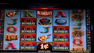 getlinkyoutube.com-Bombay Slot Machine Casino * BIG WIN *